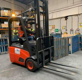 Counterbalance forklift training birmingham