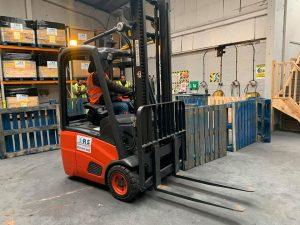 Counterbalance forklift training Birmingham.