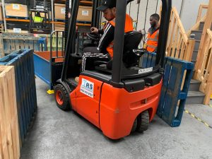 Quick & fast forklift training