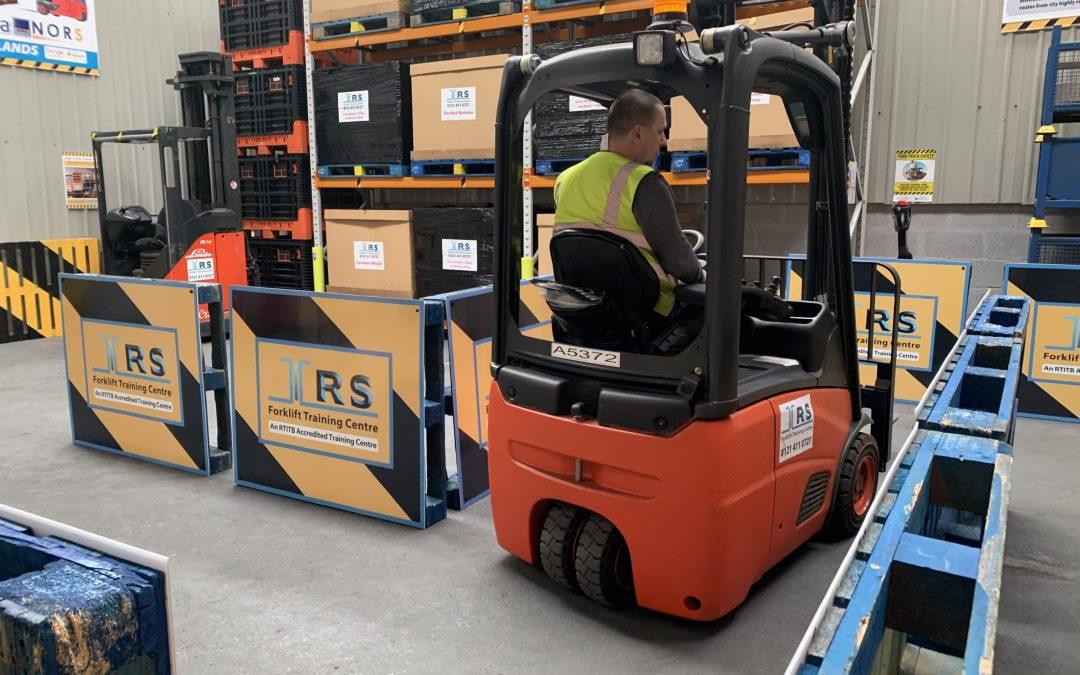 Forklift Practical Test